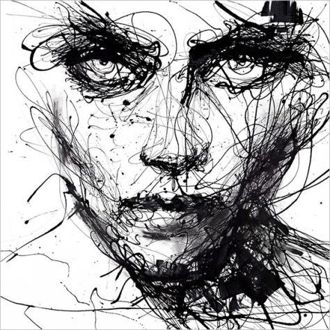 abstract-woman-face-drawing-for-you